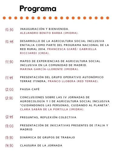 Encuentro de iniciativas de agricultura social inclusiva. Tejiendo redes, intercambiando experiencias entre España e Italia.-3-3-001