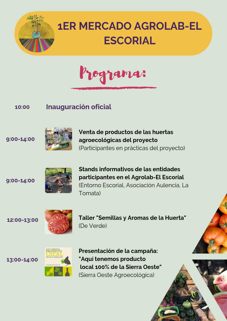 Programa mercado Agrolab-El Escorial